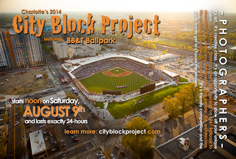 Front of postcard for City Block Project 2014